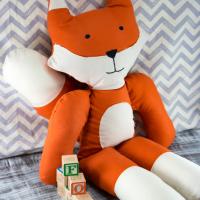 Mr. Fox Free Stuffed Animal Pattern