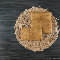 Garlic and Herb Crackers