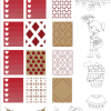 Apple Harvest Printable Planner Stickers