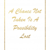 Gold Inspirational Quote Printable and Giveaway!