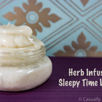 Herb Infused Sleepytime Lotion