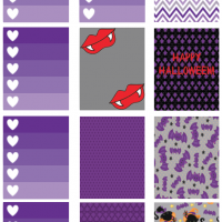 Vampire Printable Planner Stickers