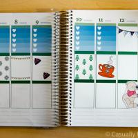 Snow Bears Free Printable Planner Stickers