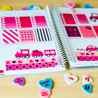 Free Love Printable Planner Stickers