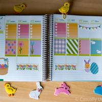 Hoppy Easter Printable Planner Stickers