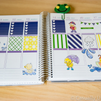 April Showers Printable Planner Stickers